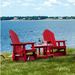 Malibu Outdoor Yarmouth Glider Seating Set