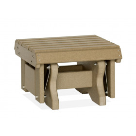 Amish Poly Gliding Footstool