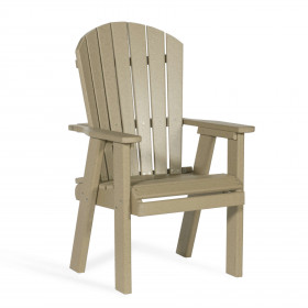 Amish Poly Bistro Dining Chair