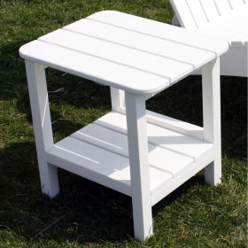 Malibu Outdoor Rectangular End Table - 15 x 19 inch