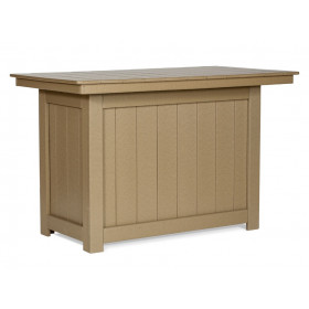 Amish Poly Bar Height Island
