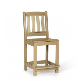 Amish Poly English Garden Counter Height Side Chair