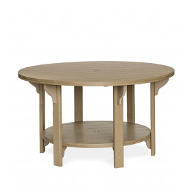 Amish Poly Round 60 in Counter Height Table