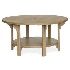 "Amish Poly Round 60"" Dining Table"