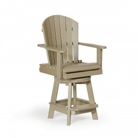 Amish Poly Balcony Swivel Chair