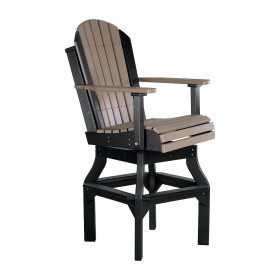 Luxcraft / Crestville® Adirondack Swivel Bar Chair