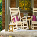 Amish Poly Zinn's Mill Rocker