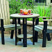 Amish Poly Bistro Dining Table