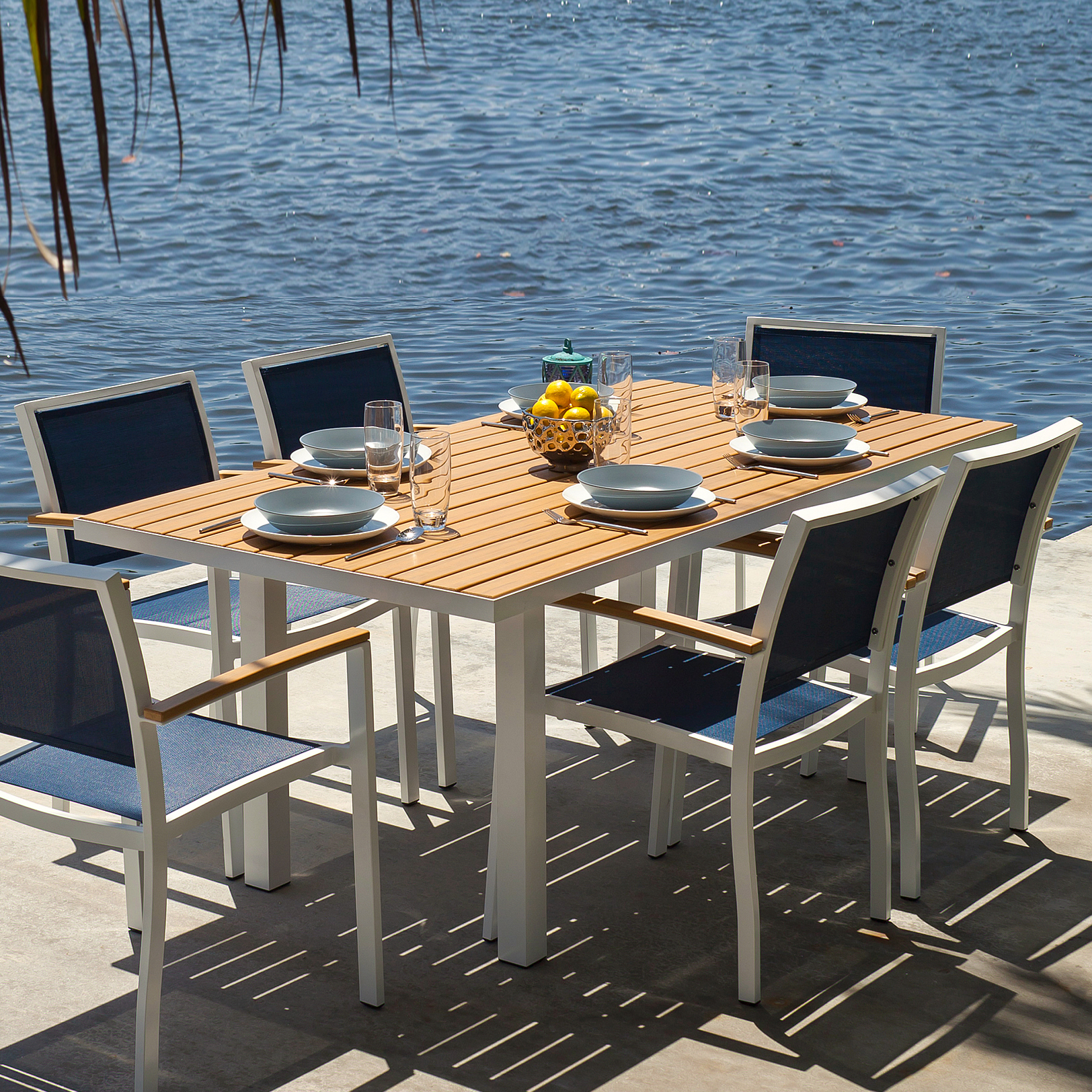 POLYWOOD Bayline 7 Pc. Dining Set   Bayline Collection   POLYWOOD® Outdoor  Furniture   Collections