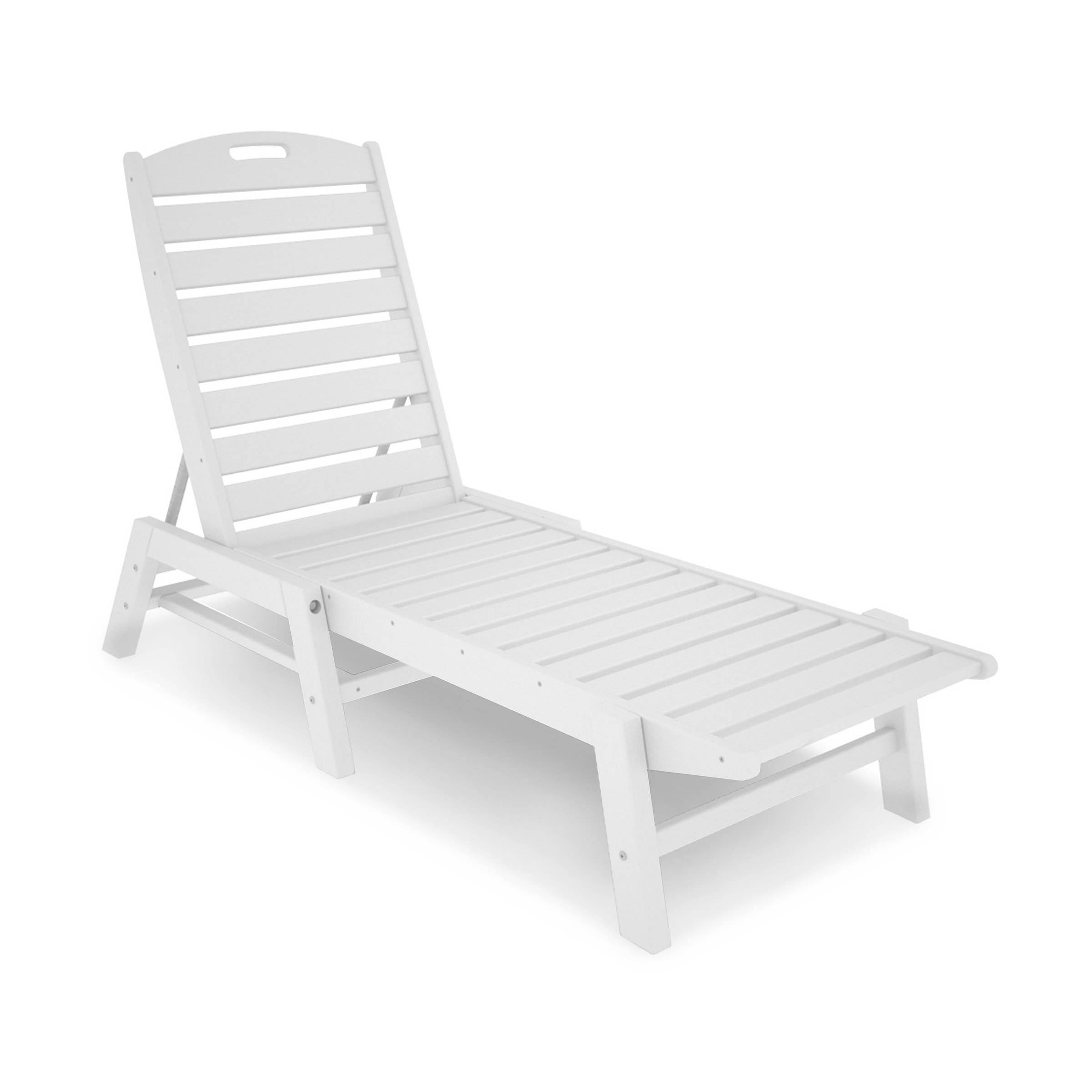 polywood nautical armless chaise lounge  nautical collection  - polywood nautical armless chaise lounge  nautical collection  polywood®outdoor furniture  collections