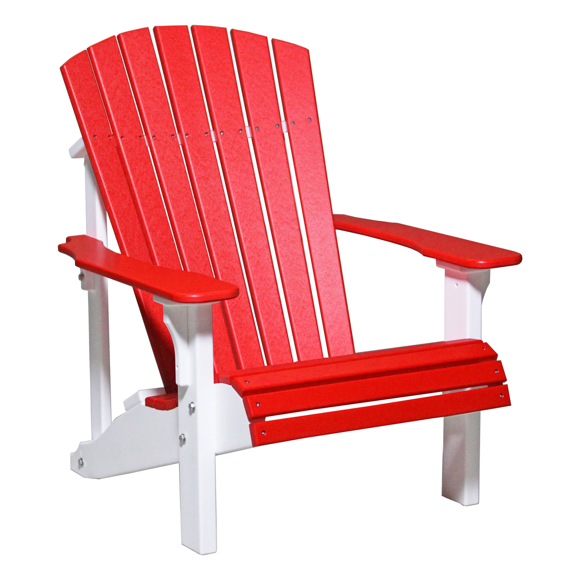 Luxcraft Crestville Deluxe Adirondack Chair in Solid Tropical
