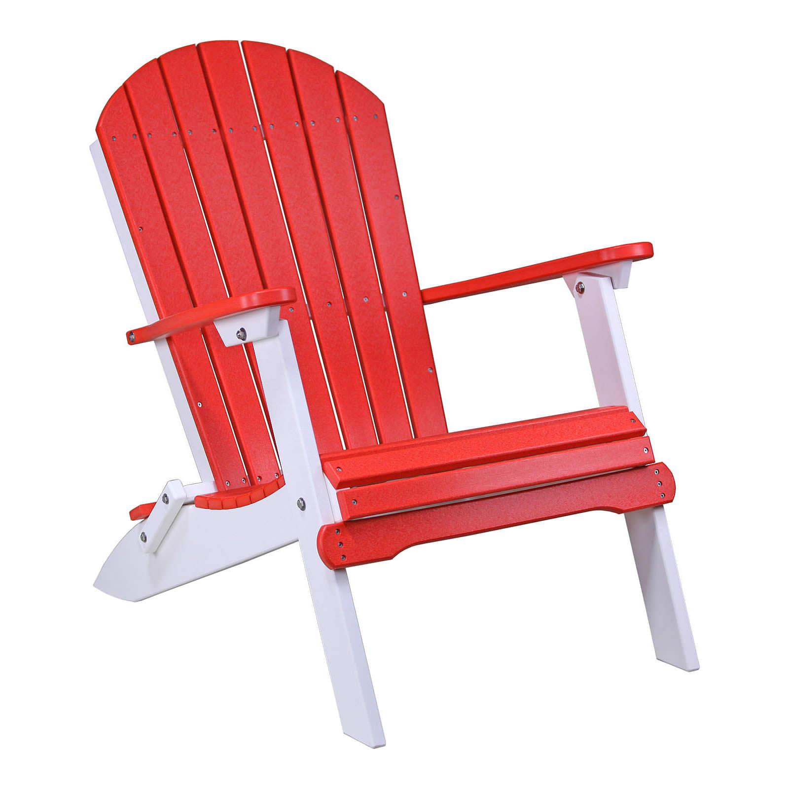 Luxcraft Crestville Folding Adirondack Chair Luxcraft