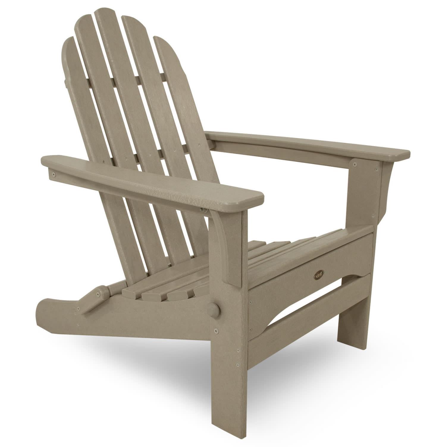 Trex Outdoor Furniture Cape Cod Folding Adirondack Chair Trex