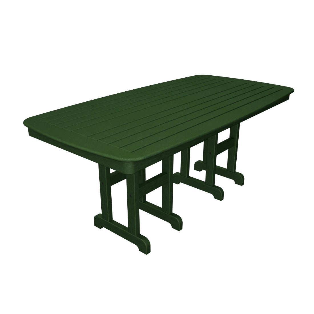 Trex Outdoor Furniture Yacht Club In X In Dining Table - 72 trestle dining table