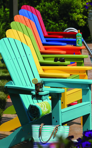 Seashell Adirondack Chair